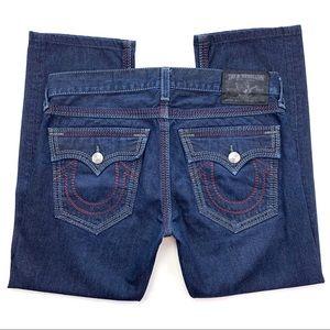 3656f591a True Religion · Sz 36 True Religion Ricky Big QT Straight Jeans
